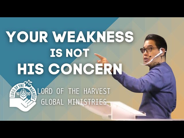 YOUR WEAKNESS IS NOT HIS CONCERN (Japanese subtitle)