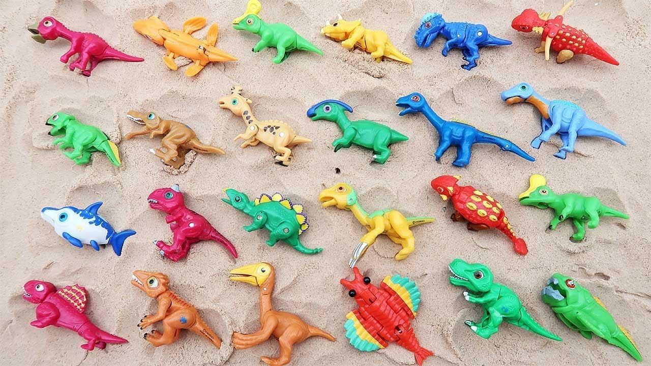 """Pelajari Nama Dinosaurus Dengan Model Mainan Dinosaurus ʳµë£¡ Ìž¥ë'œê° ̝´ë¦"""" Ë°°ìš°ê¸° Youtube"""