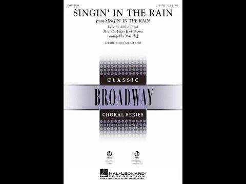 Singin' In The Rain (SATB Choir) - Arranged by Mac Huff