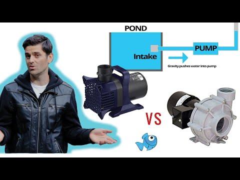Submersible Vs External Pond Pumps