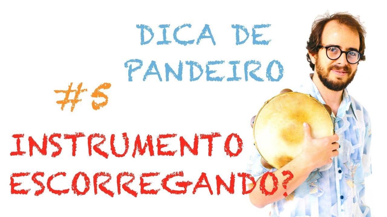 Dica de Pandeiro do Krakowski #5 - Instrumento Escorregando? (em Português)