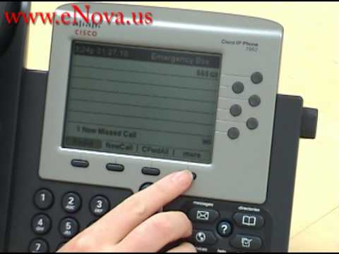 Cisco IP Phone 7962 Do Not Disturb
