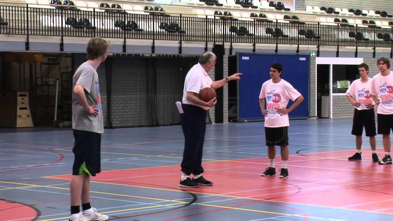 HNBT Clinics 2010 met Swen Nater Zare Markovski en Lucien van