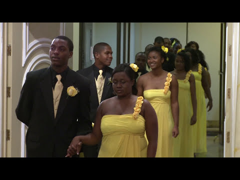Toronto Bridal Party Processional | Haitian Wedding Ceremony | Paradise Banquet Hall | Forever Video