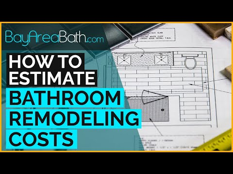 How To Estimate Bathroom Remodeling Costs