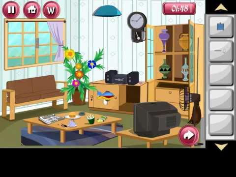 Escape Smart Game Sitting Room Level 1 Walkthrough