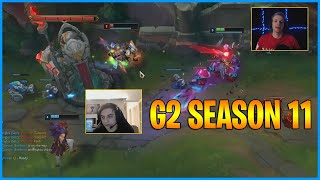 G2 Season 11...Caps And Jankos Diving...LoL Daily Moments Ep 1215