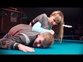 Karate Girl Kicks Attacker's Ass (Fashion and Bikini Model, Karate Fighter Ekatherina Logutova)