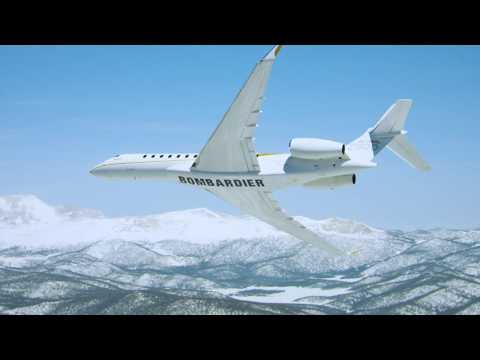 Lavion Global 7500 atteint de nouveaux sommets au cur des Alpes suisses