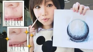 【BrenLui大佬B】畫畫與化妝之間 | 遮蓋暗瘡 How to Cover Acne with Drawing & Color Theory Thumbnail
