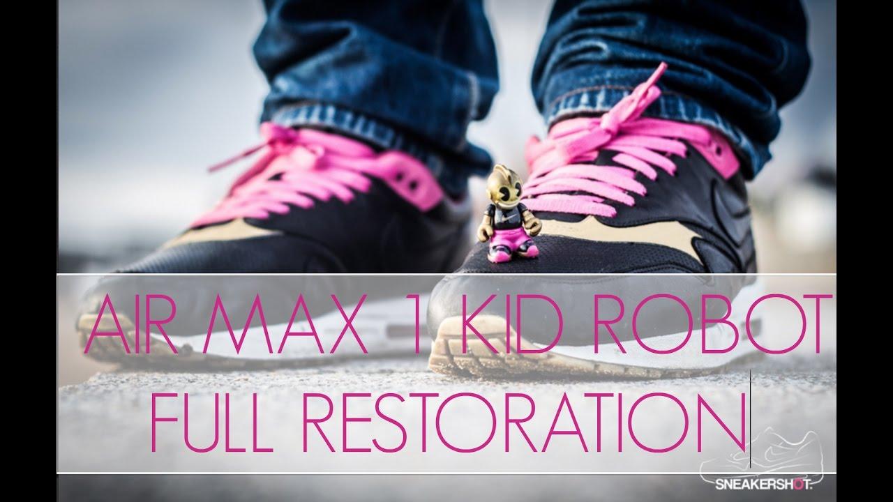 reputable site 2ccae 4616f Sample 2005 Nike Air Max 1 Kid Robot Full Restoration