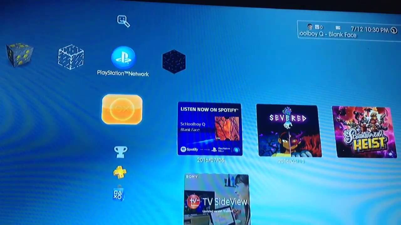 How To Change Ps3 Wallpaper Youtube