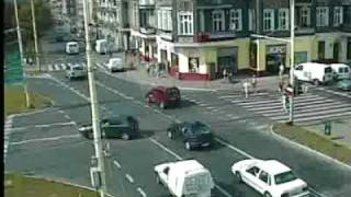 Szczecin: Kolizja na pl. Kościuszki. Monitoring policji