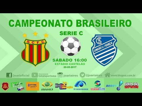 SAMPAIO 0X2 CSA - BRASILEIRO SERIE C 2017