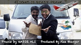 | Airport Sending Prank | Flight is Ready By Nadir Ali in P4 Pakao