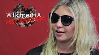 Taylor Momsen - Wikipedia: Fact or Fiction?