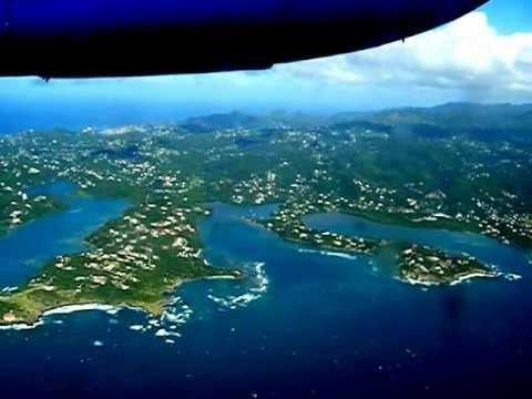 Landing in Grenada @ GND (Maurice Bishop International Airport)  2