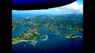 Landing in Grenada @ GND (Maurice Bishop International Airport)  2