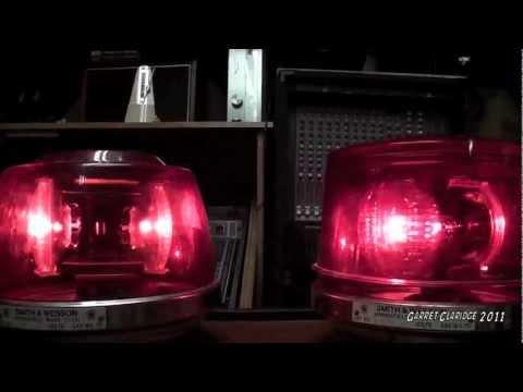 Sireno Fire Truck Light Bar Demo