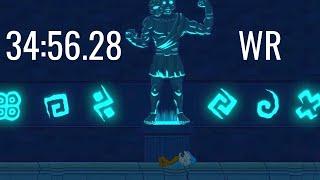 WR: 34:56.28 | Struggling Canyon% Speedrun