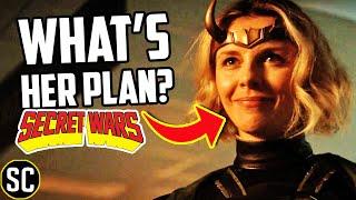 LOKI: Lady Loki's Secret Plan Is Next MARVEL Crossover | MCU SECRET WARS Explained | Breakdown