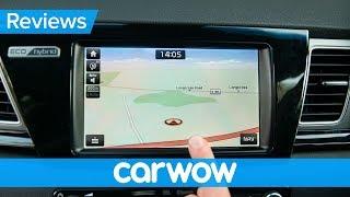 Kia Niro hybrid 2018 infotainment and interior review | Mat Watson Reviews