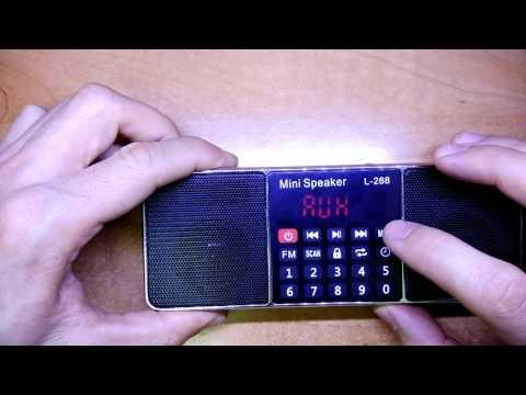 Портативное FM радио с Mp3 Model L-288