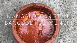 Mangalorean Style - BANGUDE PULI MUNCHI