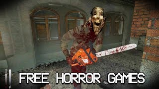 Top 5 FREE Horror Games that will KEEP YOU UP AT NIGHT! (DOWNLOAD LINKS!) The SCARIEST Games EVER!