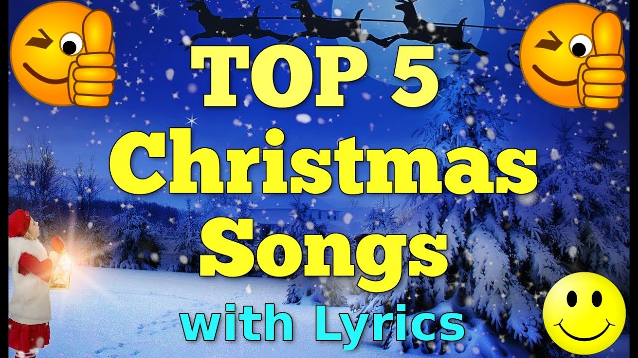 Top 5 Christmas Songs With Lyrics | QPT - YouTube
