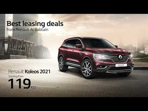 Leasing offers from Renault AlBabtain