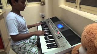 ekadantaya vakratundaya... on keyboard by SANDEEP