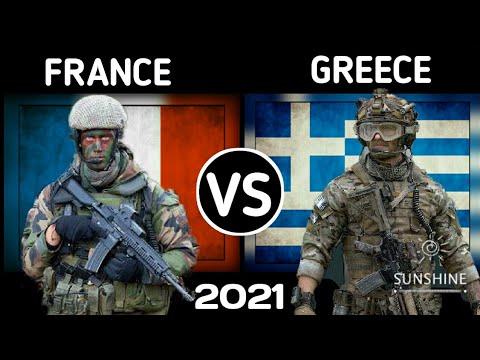 France Vs Greece Military Power Comparison 2021