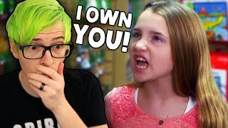 SPOILED LITTLE GIRL Thinks She Owns Her Nanny..   What would you do?