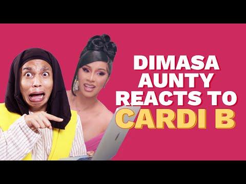 Aunt Nijula Reacts To Cardi B Music Videos | Aunty from Northeast | Chugli TV | Vishal Langthasa