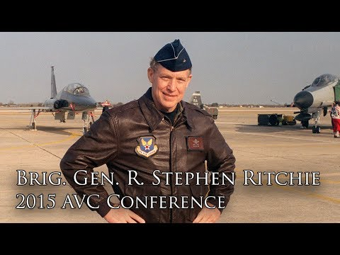 The Last Ace: Brig. Gen. R. Steve Ritchie (2015 AVC Conference)