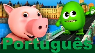 A Ponte de Londres | canções infantis | LittleBabyBum