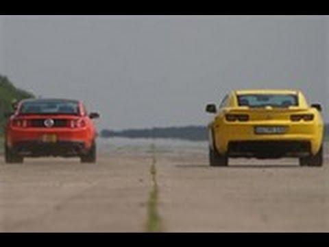 Ford Mustang Boss 302 Vs Chevrolet Camaro Youtube