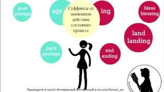 Видеошпаргалки словообразование суффиксы существительных ЕГЭ WORD FORMATION NOUNS