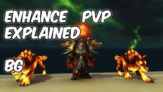 Enhancement PvP Explained - 7.3.5 Enhancement Shaman PvP - WoW Legion