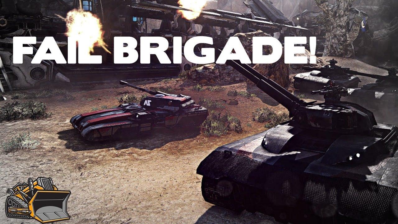 Fail Brigade vs Planetside 2