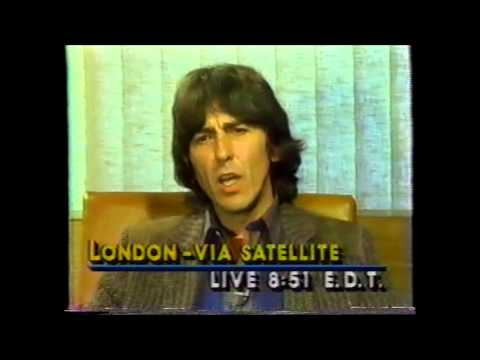 George Harrison Interview Good Morning America Pt 1 10/16/81