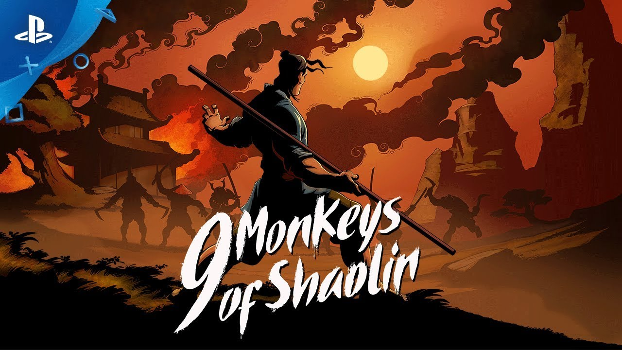 9 Monkeys of Shaolin Trailer