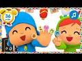🖐️🏻🎶 CANCIONES INFANTILES de POCOYÓ 🖐️🏻🎶  Finger Family- 36 min Caricaturas y dibujos animados
