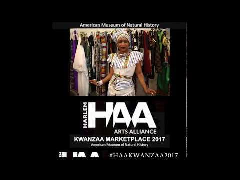HARLEM ARTS ALLIANCE KWANZAA MARKETPLACE 2017 feat. CLYER METAL