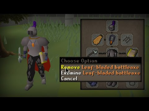RuneScape's Strongest One Handed Weapon