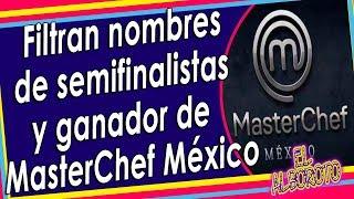 Filtran el nombre de la ganadora de MasterChef México