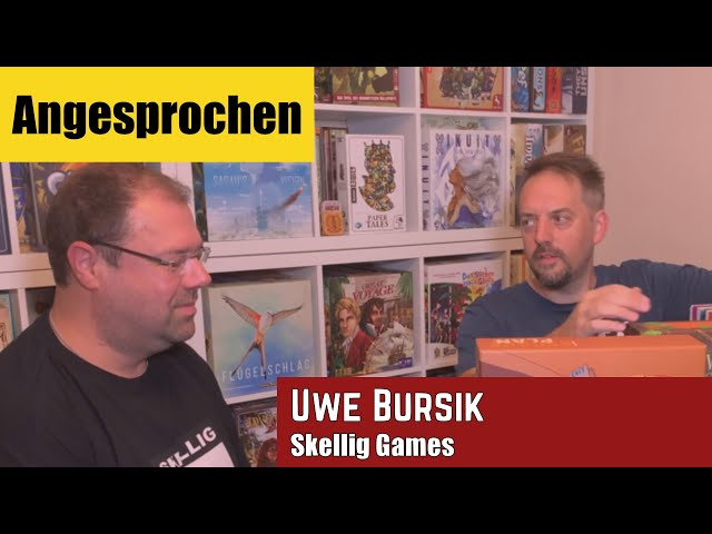 Angesprochen - Interview mit Uwe Bursik von Skellig Games