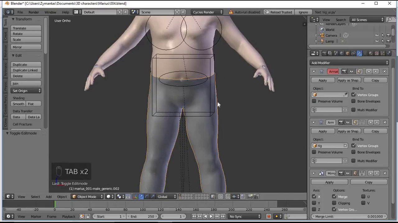 Create animation-ready clothing in blender   3d artist animation.
