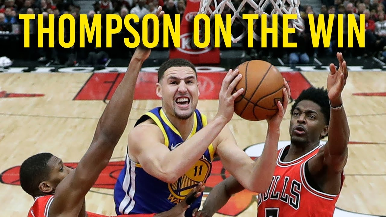 Warriors' Thompson on keys to victory, NBA all star game